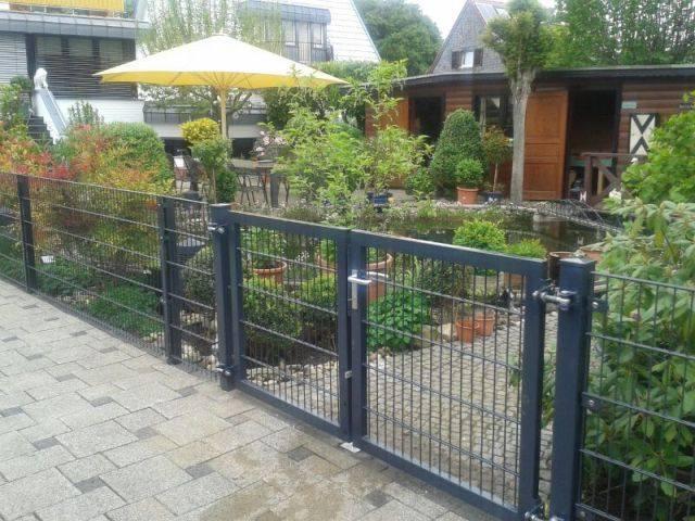 Gartenzaun Mit Tor : zaunbau zaunanlagen z une klaa en ~ Frokenaadalensverden.com Haus und Dekorationen